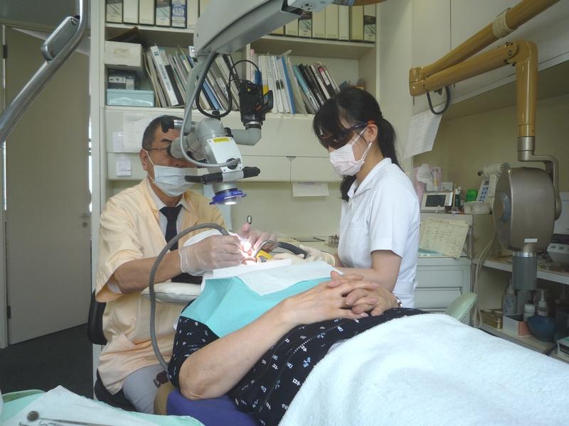 横浜の歯科・歯医者 横浜山手デンタルクリニック 顕微鏡を使った歯科治療